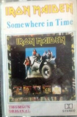 Iron Maiden somewhere in time Indonesia asia cassette mc