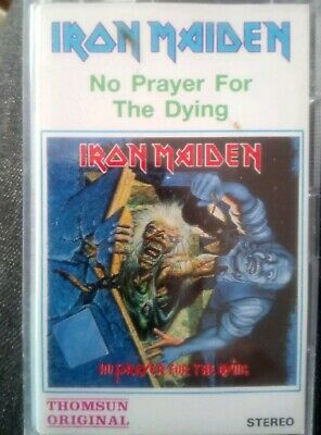 Iron Maiden No Prayer for the dying Indonesia asia cassette mc