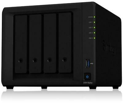 Synology Ds418Play Serveur Nas 4 Baies
