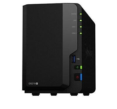 Synology Ds218 + 6To (2 X 3To Wd Red) 2 Bay Bureau Unit