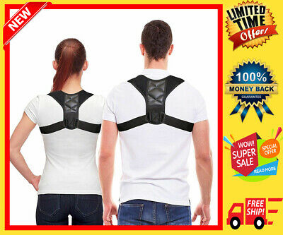 Original BodyWellness Posture Corrector (Adjustable to Multiple Body Sizes)