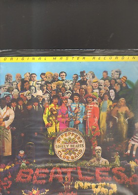 THE BEATLES - sgt. peppers lonely hearts club band LP original master recording