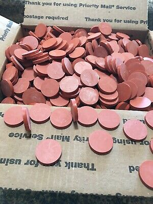 """SILICONE DISCS 3/16"""" Thick High Temp 1""""3/16"""" Round"""