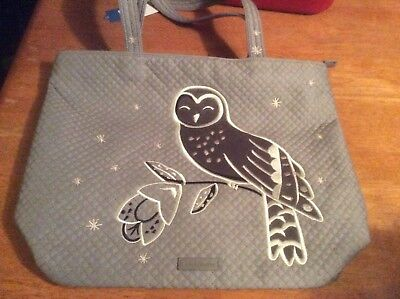 9d698b6d1 Vera Bradley Iconic Tote Denim Gray Owl SOLD OUT Everywhere ~Treat  Yourself~NICE
