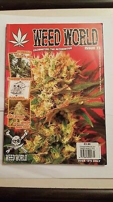 WEED WORLD MAGAZINE  -issue  73- cannabis marijuana