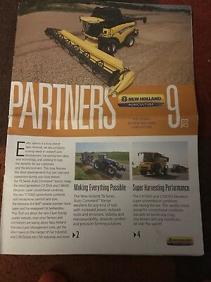 New Holland Partners issue 9 2013 tractor brochure T8 T8050 CR Ford