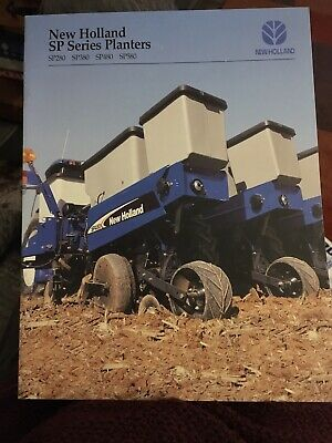 New Holland SP series planters TG Ford tractor brochure