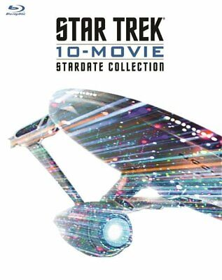 Star Trek: 10 Movie Stardate Collection Blu-Ray New Factory Sealed