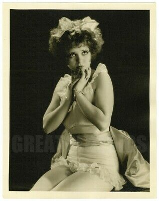 Clara Bow Fleet's In 1928 Gorgeous Oversize Dblwt Custom Photograph By Richee