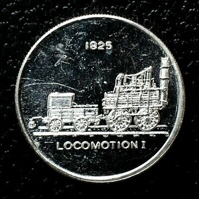 Locomotion Fine Silver Coin - 1 Troy Oz. - The Intl. World Trade Unit