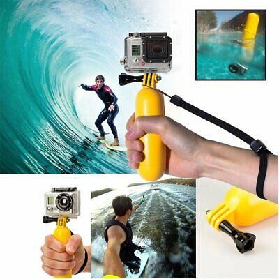 Floating Hand Grip Handle For Gopro HERO 3+/3/2/1 Camera Yellow Notable  Float