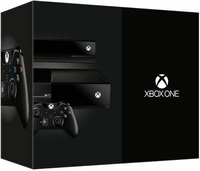 Xbox One 500GB Console - Day One Edition w/ Kinect - Black [XB1 System] NEW