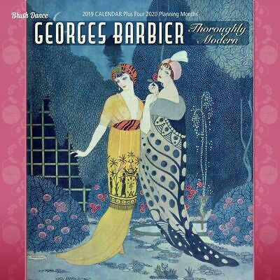 2019 Georges Barbier Wall Calendar,  by Brush Dance