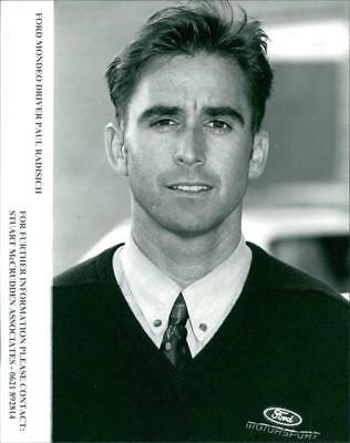 Ford Mondeo driver Paul Radisich. - Vintage photo