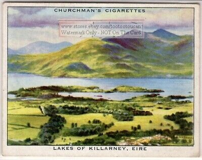 KILLARNEY, IRELAND - Beautiful Irish Angels, Lakes & Fells