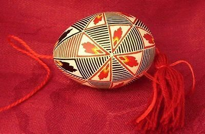 Authentic Real Easter Hang Up Egg Unique Handmade Gift For Holidays Easter