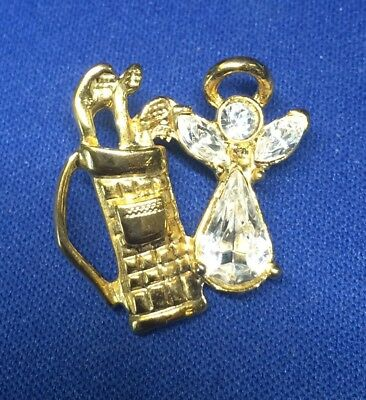 """14KT GOLD EP /""""GAIL/"""" PERSONALIZED NAME PLATE WORD CHARM PENDANT 6143"""