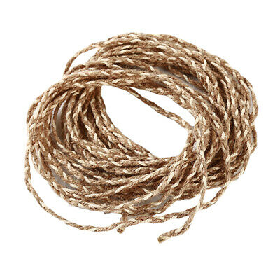 Hand Woven Hemp Cord Cable Retro Decorative Natural Jute Twine Tied Rope S