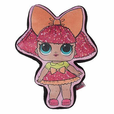 Official Lol Surprise Glitter Queen Cushion Shaped Plush Doll Filled