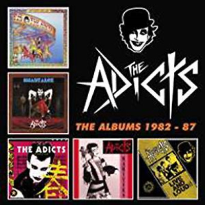 Adicts-The Albums 1982-87: Clamshell Box Set-Import 5 Cd+Book With Japan Obi M52