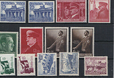 Lot  briefmarken deutsches reich