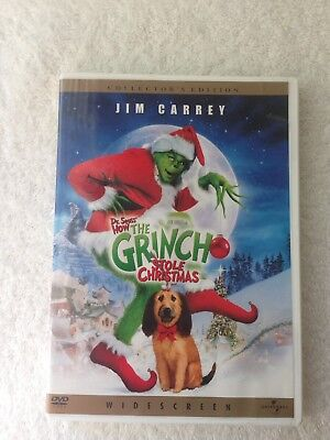 """How The Grinch Stole Christmas. (DVD, WS, 2001) """"The Grinch"""" Bring IT!!"""