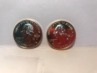 1999 Gold Plated Washinton Quarters Lot 2