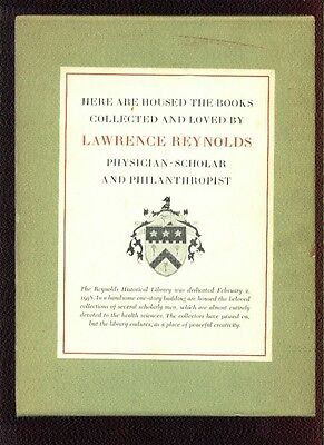 Rare Books & Collections of Reynolds Historical Library