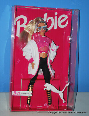 PUMA Barbie Doll 50th Anniversary Blonde Sneakers - White Jacket DWF59 Limited