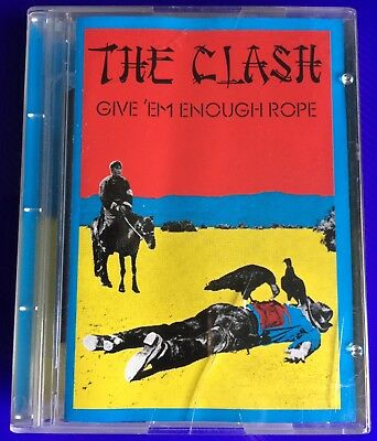 """THE CLASH """"GIVE 'EM ENOUGH ROPE"""" MiniDisc MD MiniDisk ."""