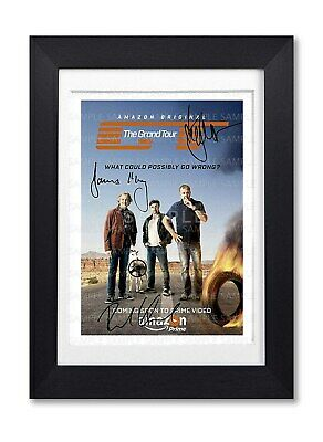 The Grand Tour Cast Signed Poster Show Series Season Print Photo Autograph Gift