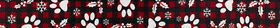 Country Brook Design® 1 Inch Christmas Plaid Polyester Webbing, 50 Yards