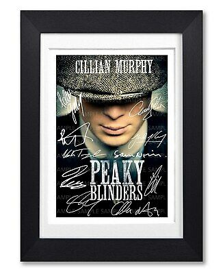 Peaky Blinders Cast Signed Poster Tv Series Season Print Photo Autograph Gift