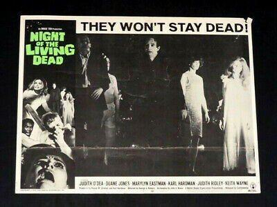 Night of the Living Dead #2 Lobby Card Movie Poster Judith Odea