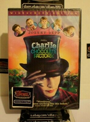 Charlie and the Chocolate Factory   NEW DVD FREE SHIPPING!!
