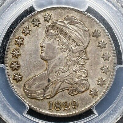 1829 Capped Bust Half Dollar Overton O-105 - PCGS XF45 - CAC Certified