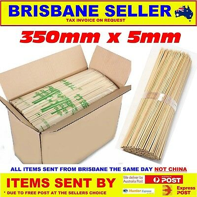 Bamboo Skewers x 2000 Size 350mm x 5mm inc Regional Shipping