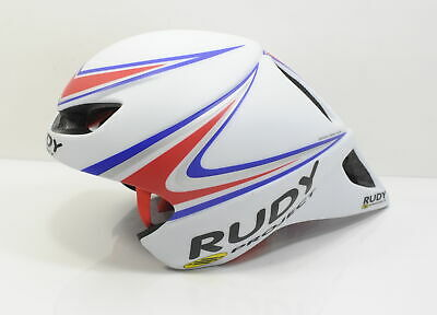 RUDY PROJECT WINGSPAN TT/Tri Cycling Helmet White/Red/ Silver Brand New One  Size