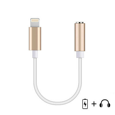 3.5mm Jack Audio Music Headphones Earphones Adapter Cable for iPhone Striking