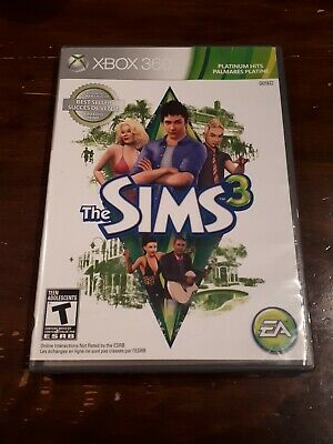 The Sims 3 (Microsoft Xbox 360, 2010) Missing Manual