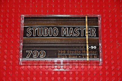 Studio Master  799   C-90   Blank Cassette Tape (1)(Sealed)