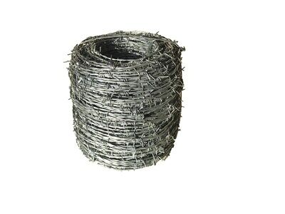 【Special offer】20 rolls Barbed Wire H/T 1.57mm*200m WAS $792--NOW $600 Inc GST
