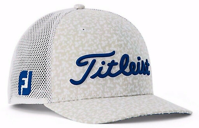 85b21073 Titleist Flat Bill Aloha Snapback Special Edition Tour Issue Golf Hat - Rare