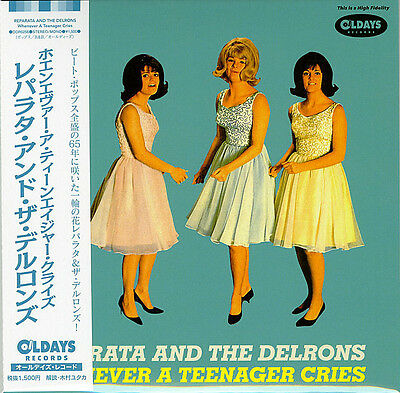 Reparata And The Delrons-Whenever A Teenager-Japan Mini Lp Cd Bonus Track C94