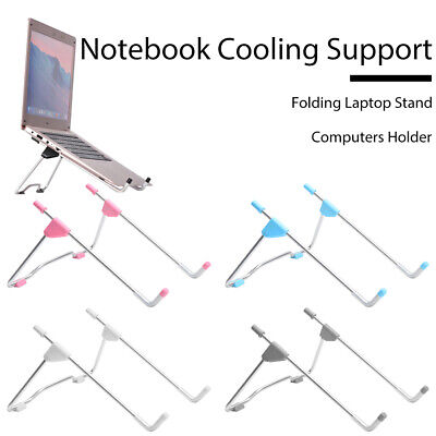 Computers Holder Folding Laptop Stand Notebook Cooling Support Dissipate Heat