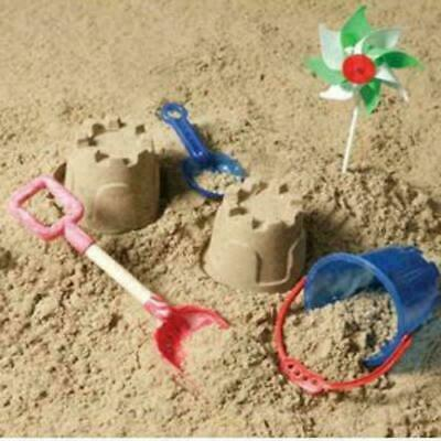 Kids Beach Play Sand Crazy Children Magic Moving Toy Sea Sand Natural Clay 5Kg