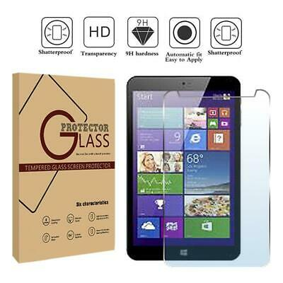 2 Pack Tablet Tempered Glass Screen Protector For Argos Bush Spira B1 LTE 8 Inch