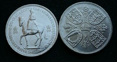 Crown - 5/- - 25 Pence 1951 to 1960