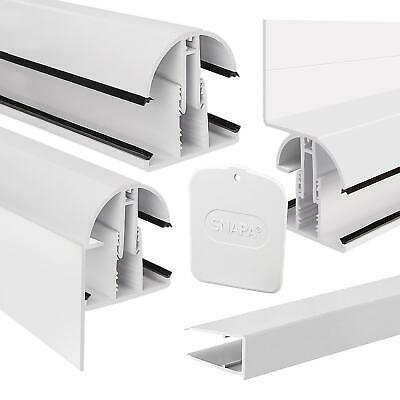 Snapa Glazing Bar Polycarbonate Plastic Roof Sheet Snap Down UPVC Capping
