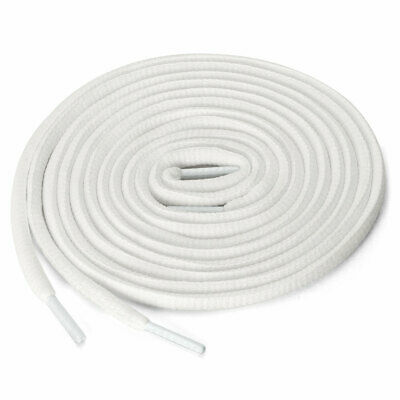 2 Pairs Athletic Oval Bootlaces Half Round Shoelaces for Sneakers